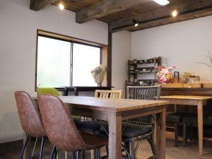 おこめ食堂なごみテーブル席