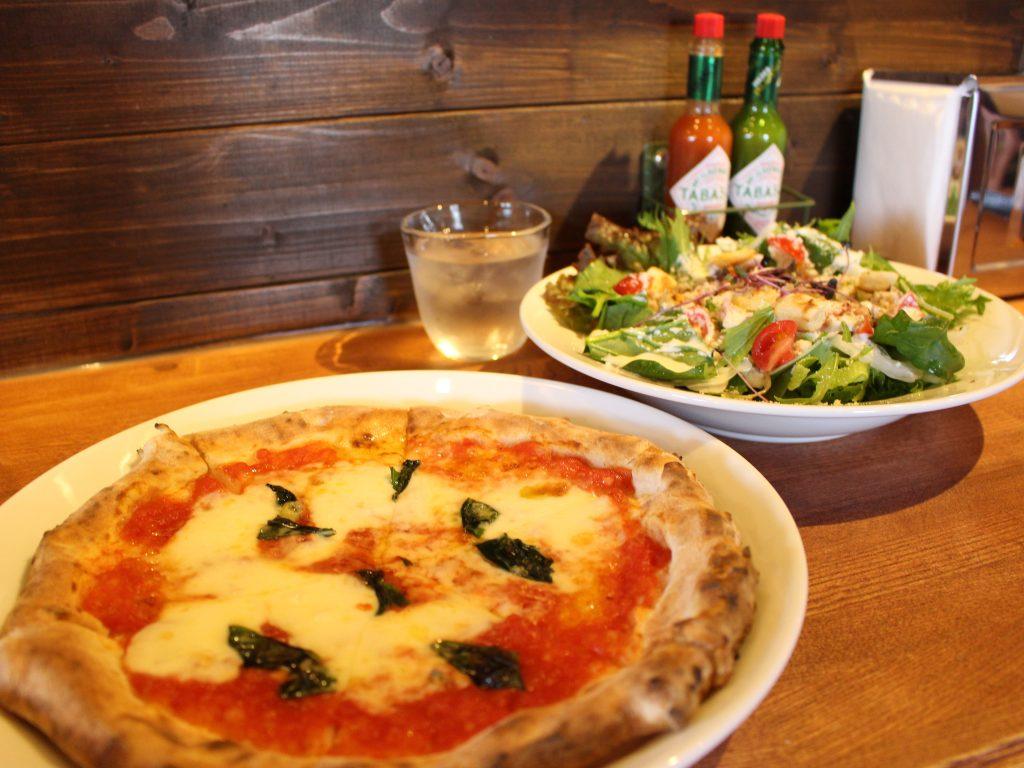 Pizzeria Makinoランチ