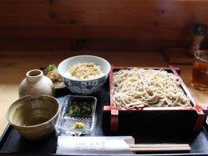 蕎麦舗 はり江 平日ランチ