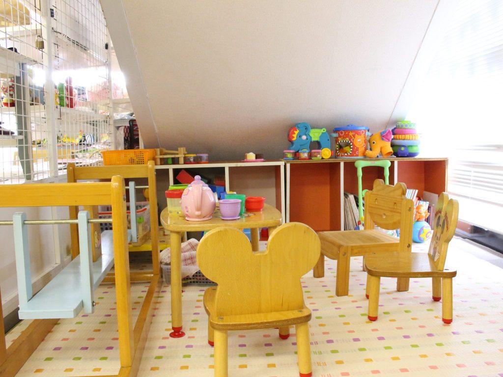 赤ちゃんハウス マンマ 子どもスペース